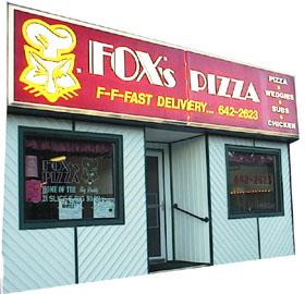 Fox's Pizza Shop